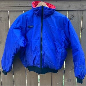 Vintage Columbia Reversible Jacket